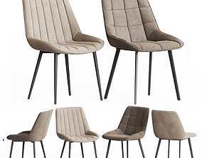 Adah and Anant Chair Set La Forma 3D model