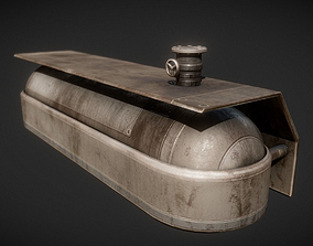3D asset Fuel Tank Old Version