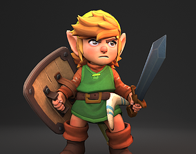 3D model Link The Legend of Zelda