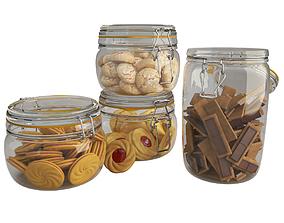 3D Cookies Jar