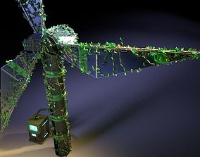 3D Windmill ivy eco