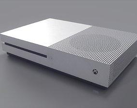 3D asset Xbox One S Console