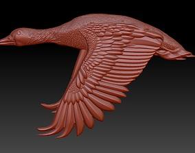 goose trophy hunter pendant 3D printable model