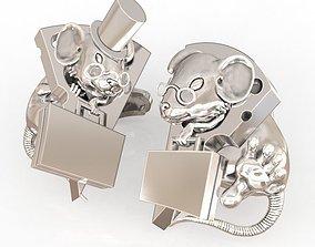 3D printable model Cufflinks Mouses