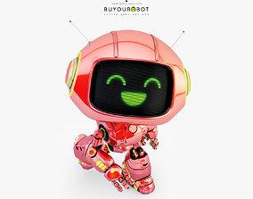 Lovely robot - companion XI 3D model