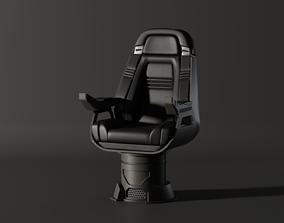 Enterprise NX Chair Captain B 3D model