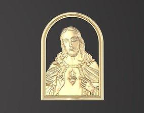 3D printable model Icon Jesus 044