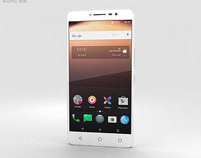 3D model Alcatel A3 XL White