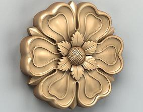 3D model Round rosette 029