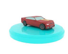 3D asset Chevrolet Camaro Low-Poly