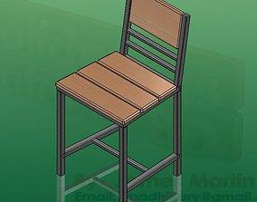 Garments Operator Chair 3D model