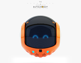 3D model Dog walker bot