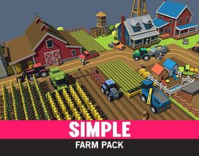 Simple Farm - Cartoon Assets animated