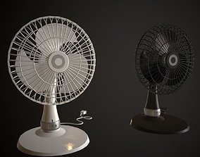 Table Fan 3D asset