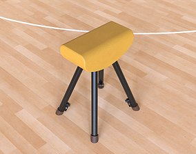 3D model Pommel horse equipment
