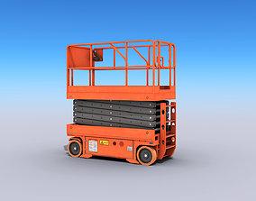 3D asset Scissor Lift Platform