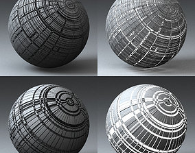 Syfy Displacement Shader H 001 k 3D