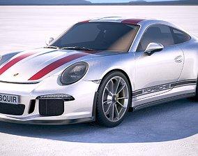 Porsche 911 R 2018 3D