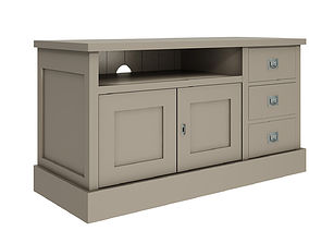 Grey cupboard 3D model