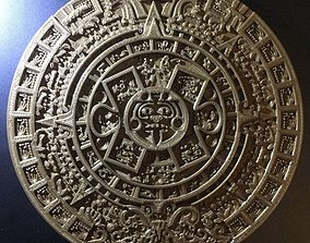 Aztec Calendar 3D printable model
