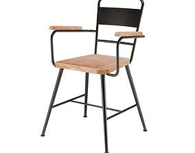 Drawer Gene chair wood 3D print model