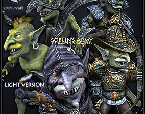 3D asset Goblins Army Light Version
