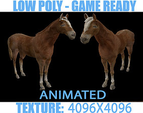 3D model Horse Animated