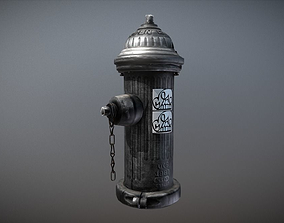 Fire Hydrant 3D Model VR / AR ready PBR