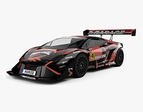 Lamborghini Gallardo Mad Croc 2017 3D