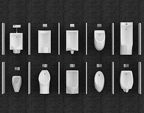 Toilet 3D asset