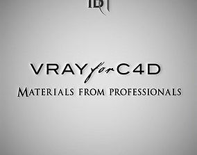3D Professional Vray Materials for C4D
