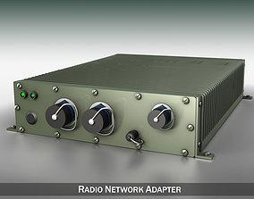 3D model Radio network adapter vhf