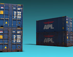 3D model Shipping Container 11