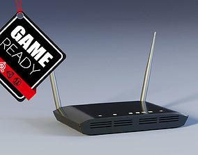Router WiFi 3D asset