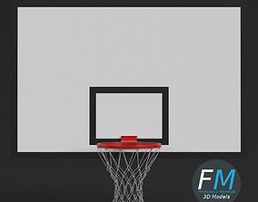 Basketball backboard 3D