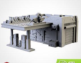 board GAS STATION 3D print model