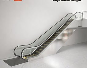 3D Escalator KONE TransitMaster 140 modular