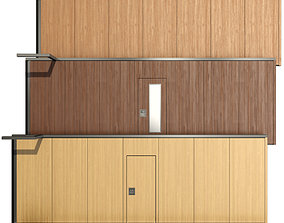Sliding Partition wall 3D model