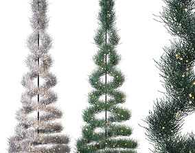 3D Spruce Tree park