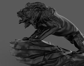 monument Lion Sculpture 3D