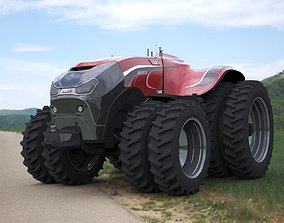 Case IH Automatic tractor 3D model