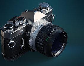 3D model PBR Film camera