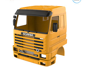 3D print model Scania 143 Cabin - Full Professional