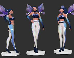 Kaisa from League of legends 3D Print