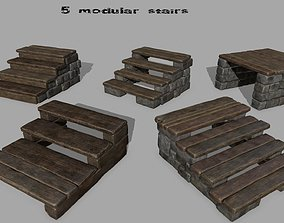 stair set 3D model