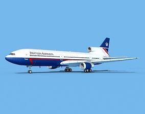 Lockheed L-1011 British Airways 1 3D