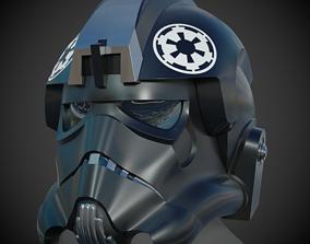 TIE Figheter Pilot Helmet 3D print model