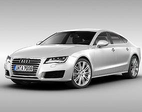 Audi A7 Sportback 2012 3D