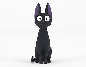 3D model Jiji Black Cat Toy