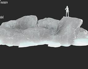 3D model VR / AR ready iceberg